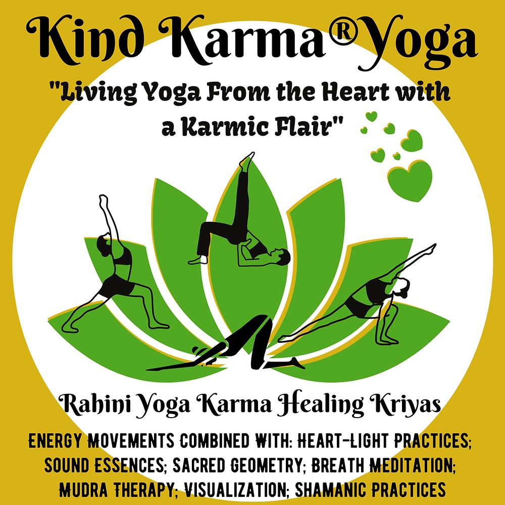 Rahini Yoga Karma Healing Kriyas