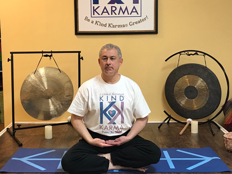 Kind Karma® Rahini Yoga®. Awaken with Meditation Posture.