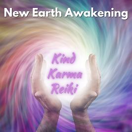 Kind Karma Reiki Color Spiral with Healing Hands