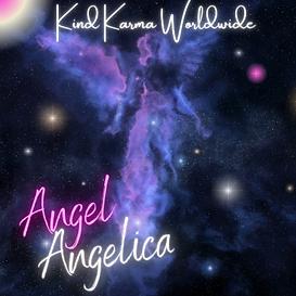 Colorful Angel Nebula in Stars.