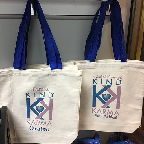 "Create Kind Karma® Tote Bags: ""I am a Kind Karma® Creator"