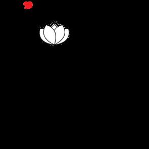 Kind Karma Yoga Heart Shape Logo.