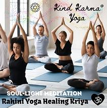 Kind Karma Meditation Training Course.