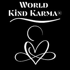 Kind Karma Heart Shaped Logo.