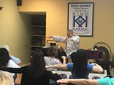 Kind Karma Meditation Class.