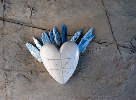 """""""Crystals for Kindness"""". Creating Kind Karma® with Blue Kyanite Crystals."""