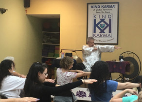 "Create Kind Karma.  Awaken Qigong: ""Floating Silk Hands"" Mind-Body Exercise."
