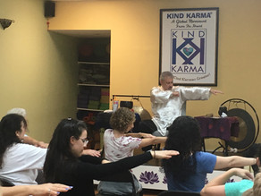 "Create Kind Karma.  Awaken Qigong: ""Floating Silk Hands"" Mind-Body Exercise."