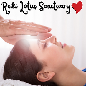Person performing a Reiki session on a woman.