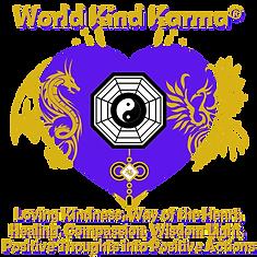 Kind Karma Logo with Heart Shape.