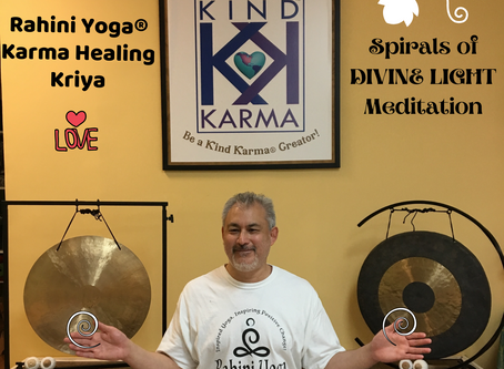 "Rahini Yoga Karma Healing Kriya:. ""Spirals of Divine Light"" Meditation."