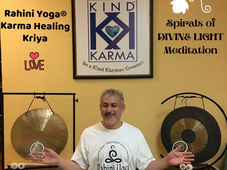 "Rahini Yoga Karma Healing Kriya:. ""Spirals of Divine Light"" Meditation."