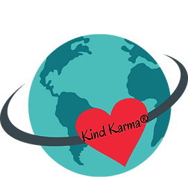 Kind Karma With Heart and Earth Illustrations