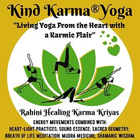 Kind Karma Yoga Lotus Illustration