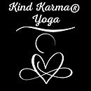 Kind Karma Yoga Heart Logo.