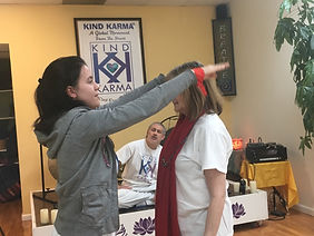Kind Karma Reiki Standing Treatment