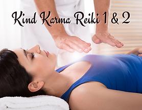 Kind Karma Reiki 1 & 2 Training Course.