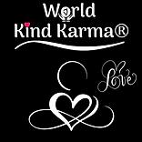 Kind Karma Heart Shape Logo