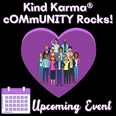 Kind Karma Worldwide Image of a Group of Diverse People Inside a Heart.