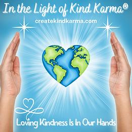 Kind Karma Reiki Hands Healing the World.