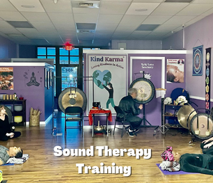 Kind Karma Sound Therapy Course