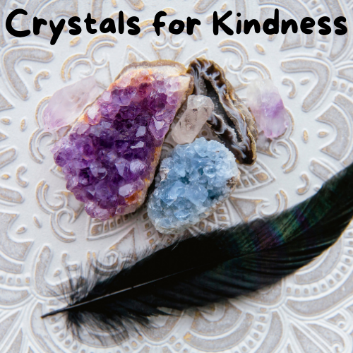 Increasing Kindness and Kind Karma with Celestite Crystals.