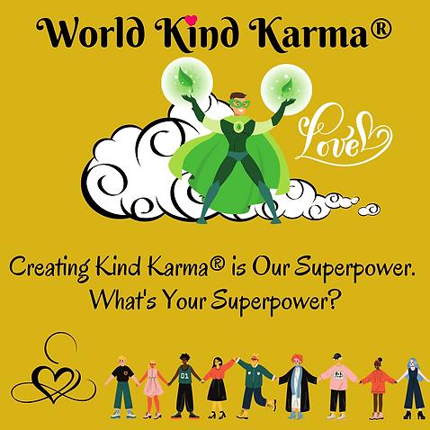 Kind Karma Promoting Personal Empowerment.