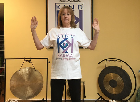 Kind Karma Yoga. Breath of Joy for Depression & Anxiety Relief.
