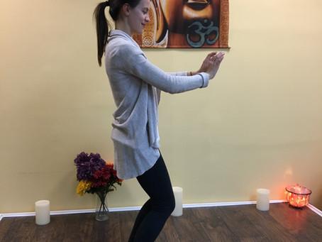 Kind Karma Awaken Qigong: Energy Brushing Exercise.