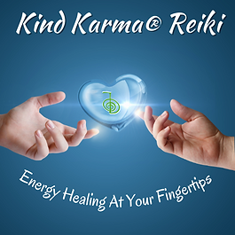 Kind Karma Reiki Training Course - Healing Fingertips with Heart.