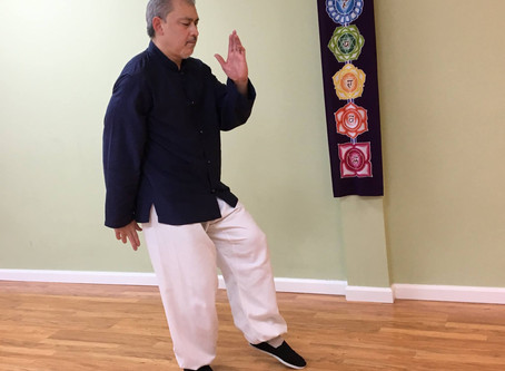 Kind Karma Awaken Qigong: Embracing the Majestic Mountain Exercise.