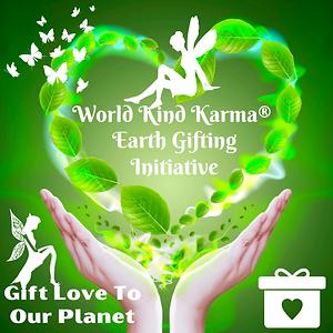 Kind Karma Ilustration Promoting Evironmental Awareness.