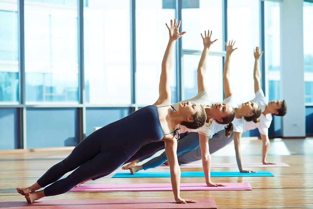Kind Karma® Yoga Side Plank Pose Strengthens the Core and Emphasizes Holistic Well Being