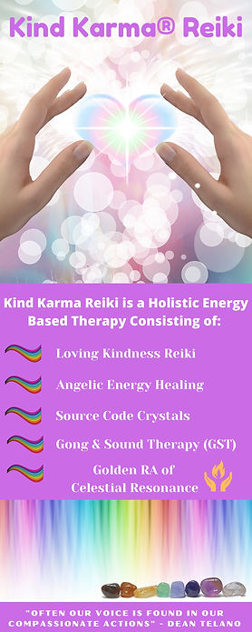 Kind Karma Reiki Training
