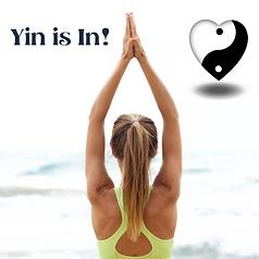 Woman Practicing Yin Yoga By Water.