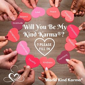 Kind Karma Yoga's list of core values.