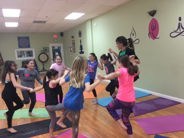 Young Kind Karma Kids Yogis.