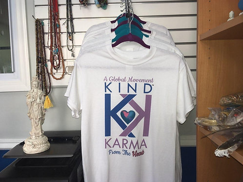 "Create Kind Karma® T-Shirt: ""From the Heart"""