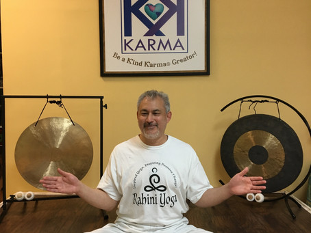 "Kind Karma Rahini Yoga. ""Spirals of Divine Healing Light"" Meditation."