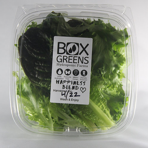 HAPPINESS BLEND - 5oz Container of Local, Freshly Hand-Harvested Artisan Lettuce