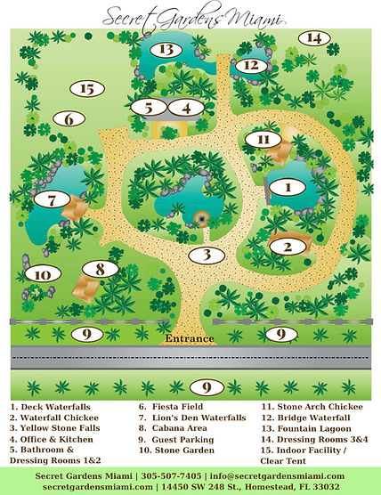 Secret Gardens Miami Property Map