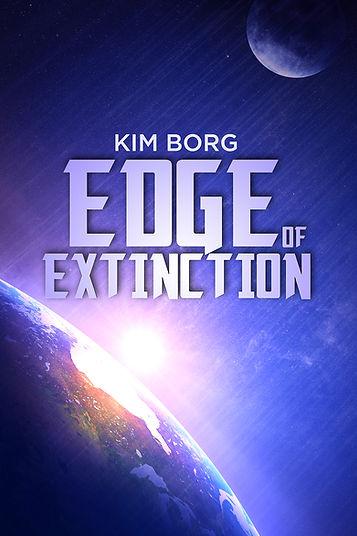 Edge of Extinction cover design