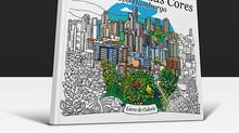 Ariadne Decker lança livro de colorir