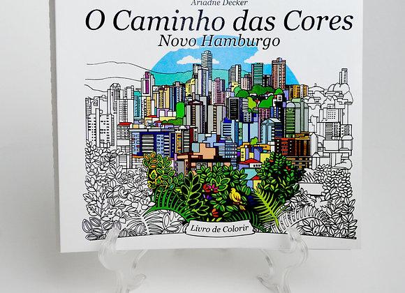 """Livro de Colorir """"O Caminho das Cores - Novo Hamburgo"""""""