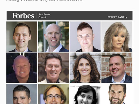 My Latest Forbes Article-Navigating Online Marketplaces? 12 Tips For Real Estate Newbies