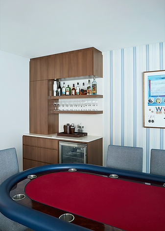 Playroom design | Rumpus room design | Custom made pool table | custom made bar