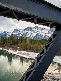 Exploring Canmore and Banff