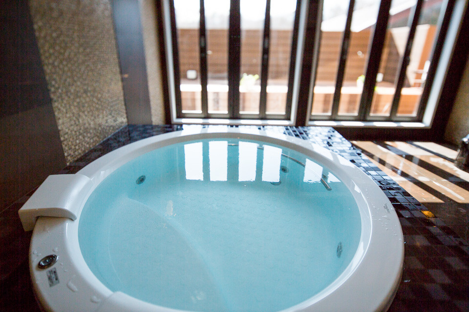 富士山が見える貸切風呂