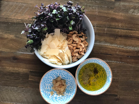 Recipe How-To: Radish Pesto!