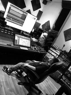 Vinnie Tesoro's EP mix session